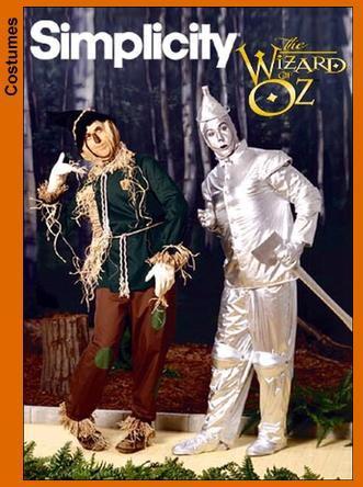 Simplicity 7820 Scarecrow costume