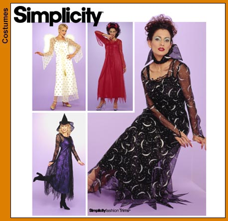 Simplicity 40 Witch Costume Best Simplicity Costume Patterns