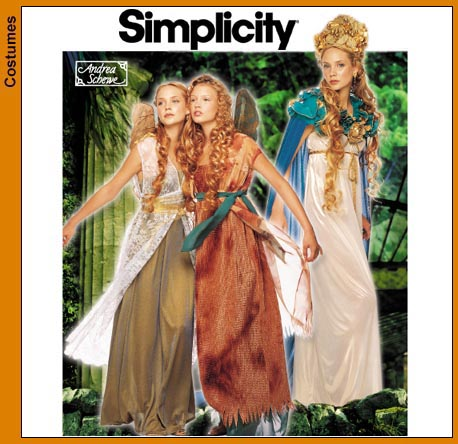 Simplicity 40 Fairy Costume For Adults Inspiration Costume Patterns