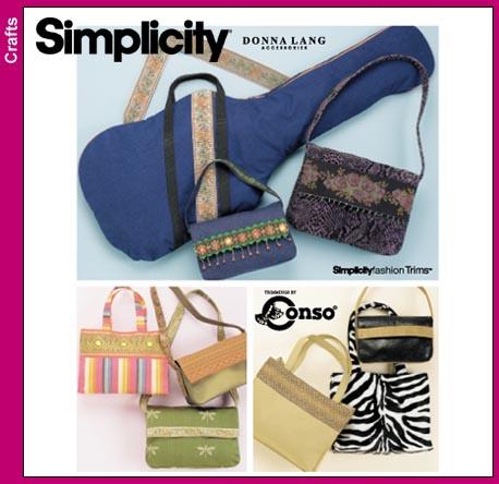 Simplicity 9528 purses an guitar case-OOP