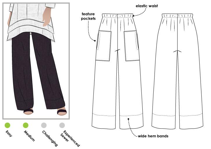 StyleArc Daisy Designer Pant