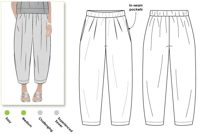 StyleArc Ethel Designer Pant