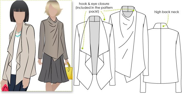 StyleArc Harper Jacket