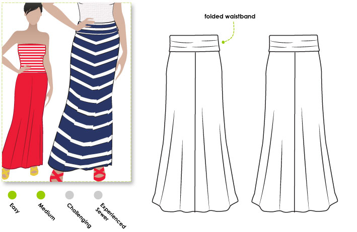 Stylearc Imogen Knit Skirt