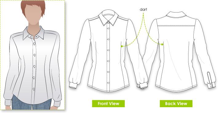 Stylearc Jenny Shirt