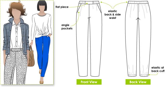 Stylearc Lola Woven Pants Lola Pant