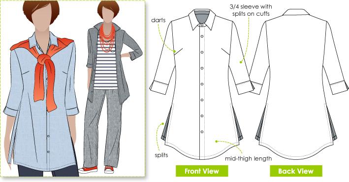 StyleArc Sacha Shirt