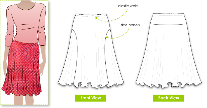 Jersey Knit Skirt Pattern Latest And Best Model Skirt 2018