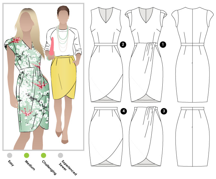StyleArc Tulip Dress