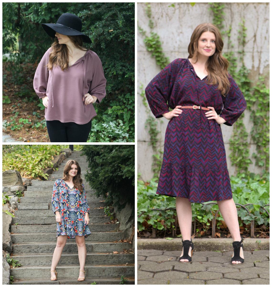 True Bias 5104 Roscoe Blouse/Dress Downloadable Pattern
