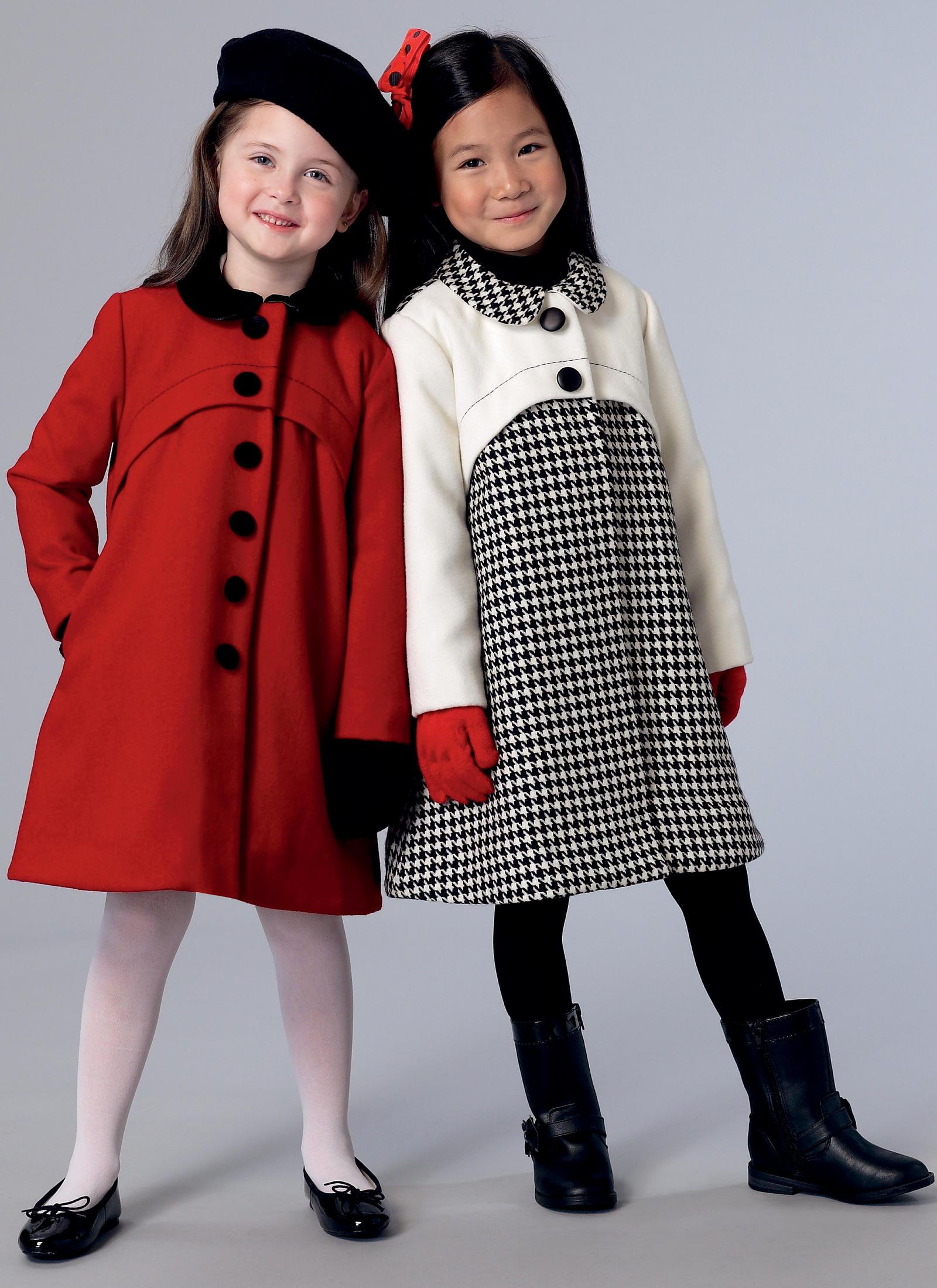 e62598158df Vogue Patterns 9219 CHILDREN S GIRLS  SNAP-CLOSURE COATS ...