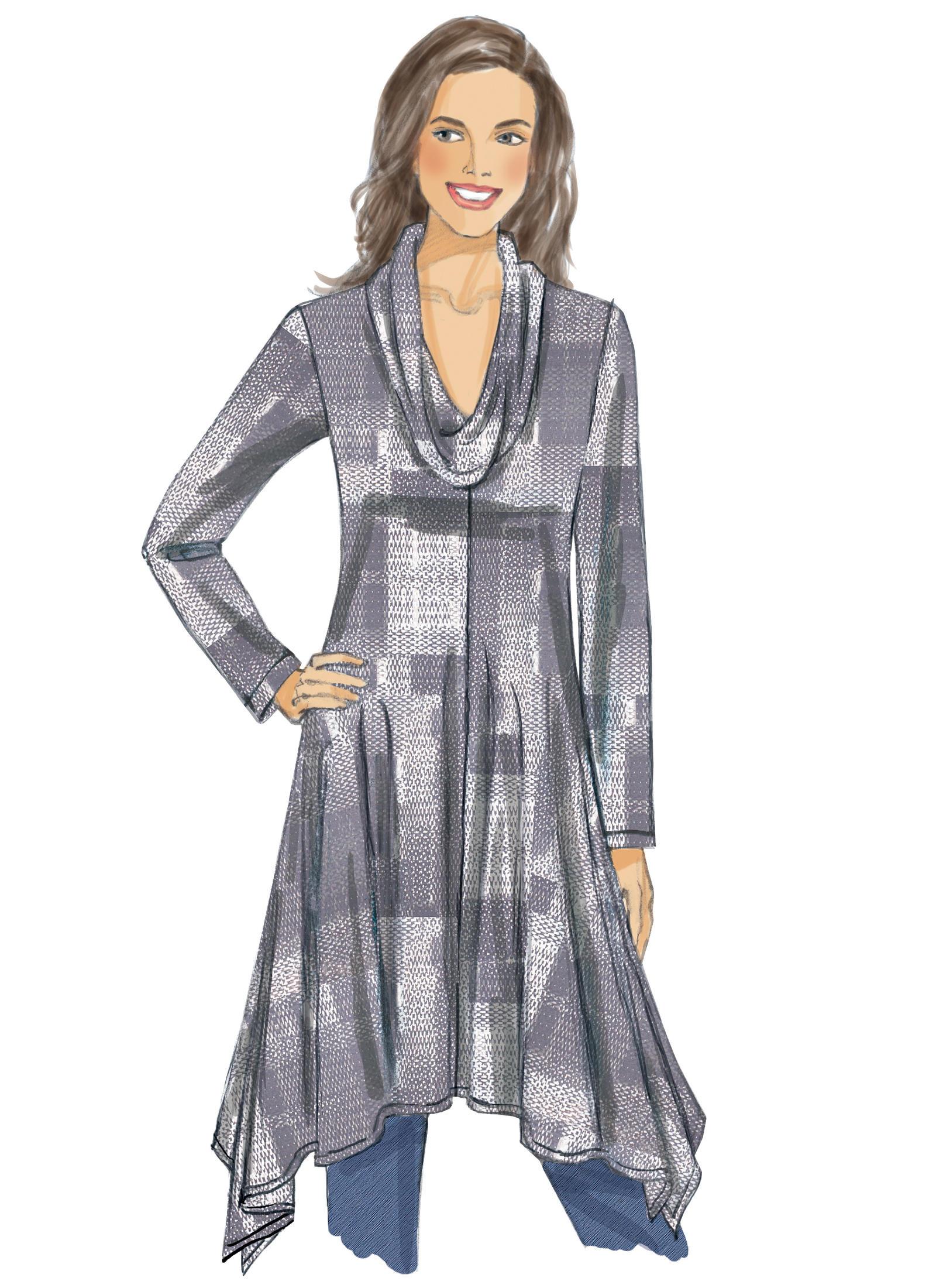 Vogue Patterns 9224 MISSES'/MISSES' PETITE HANDKERCHIEF