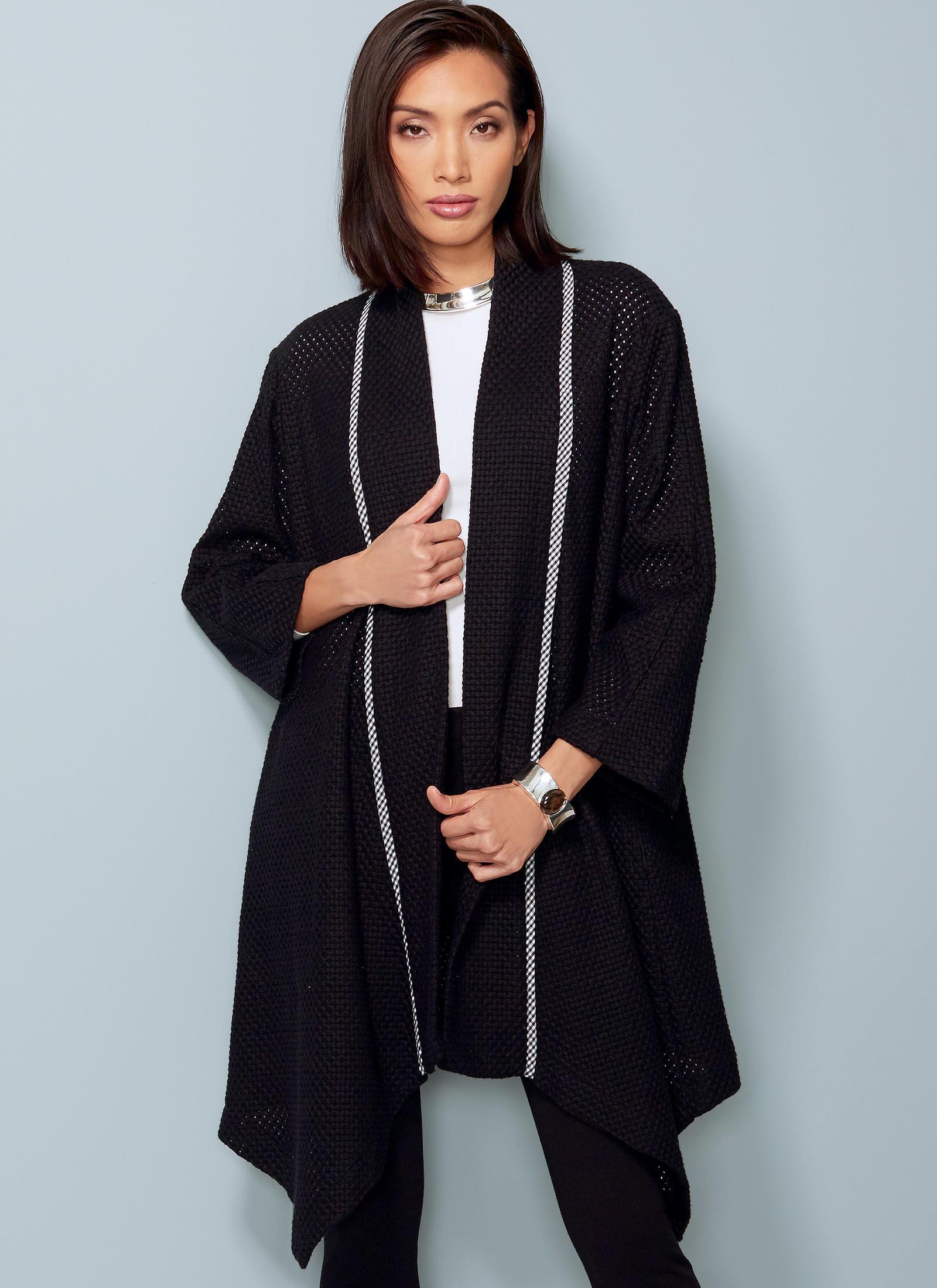 Vogue Patterns 1540 MISSES' BANDED COAT AND VEST