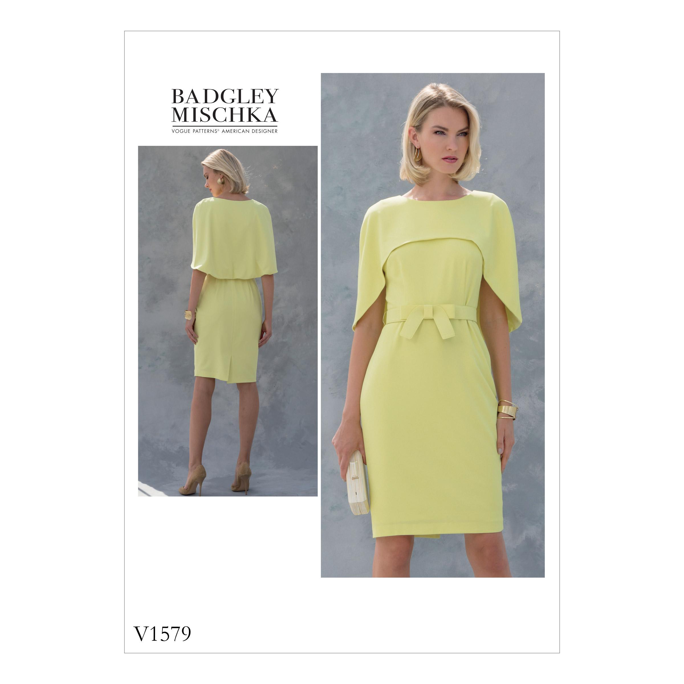a9ae71979 Vogue Patterns 1579 MISSES'/MISSES' PETITE DRESS