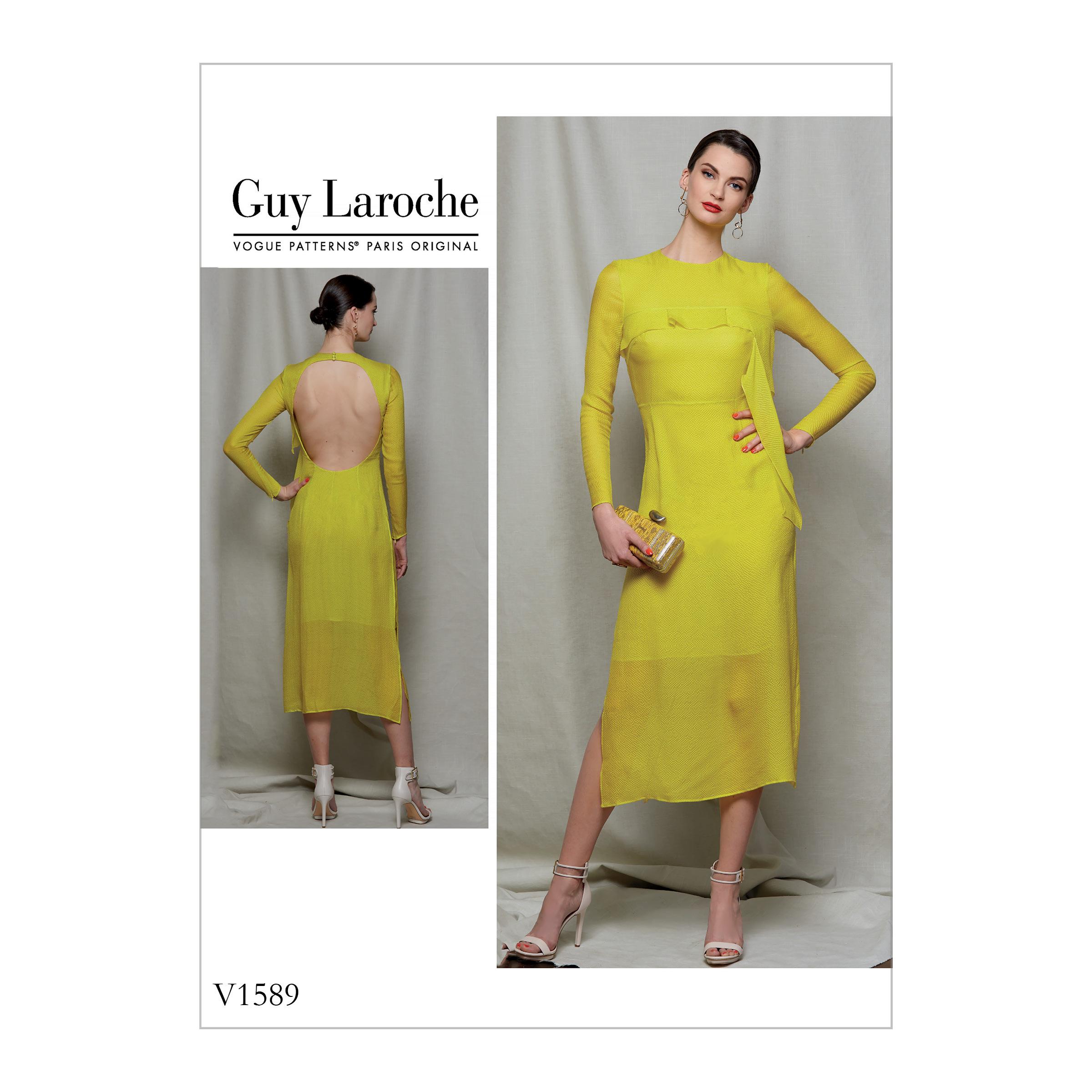 f4dcf57f0 Vogue Patterns 1589 MISSES'/MISSES' PETITE DRESS