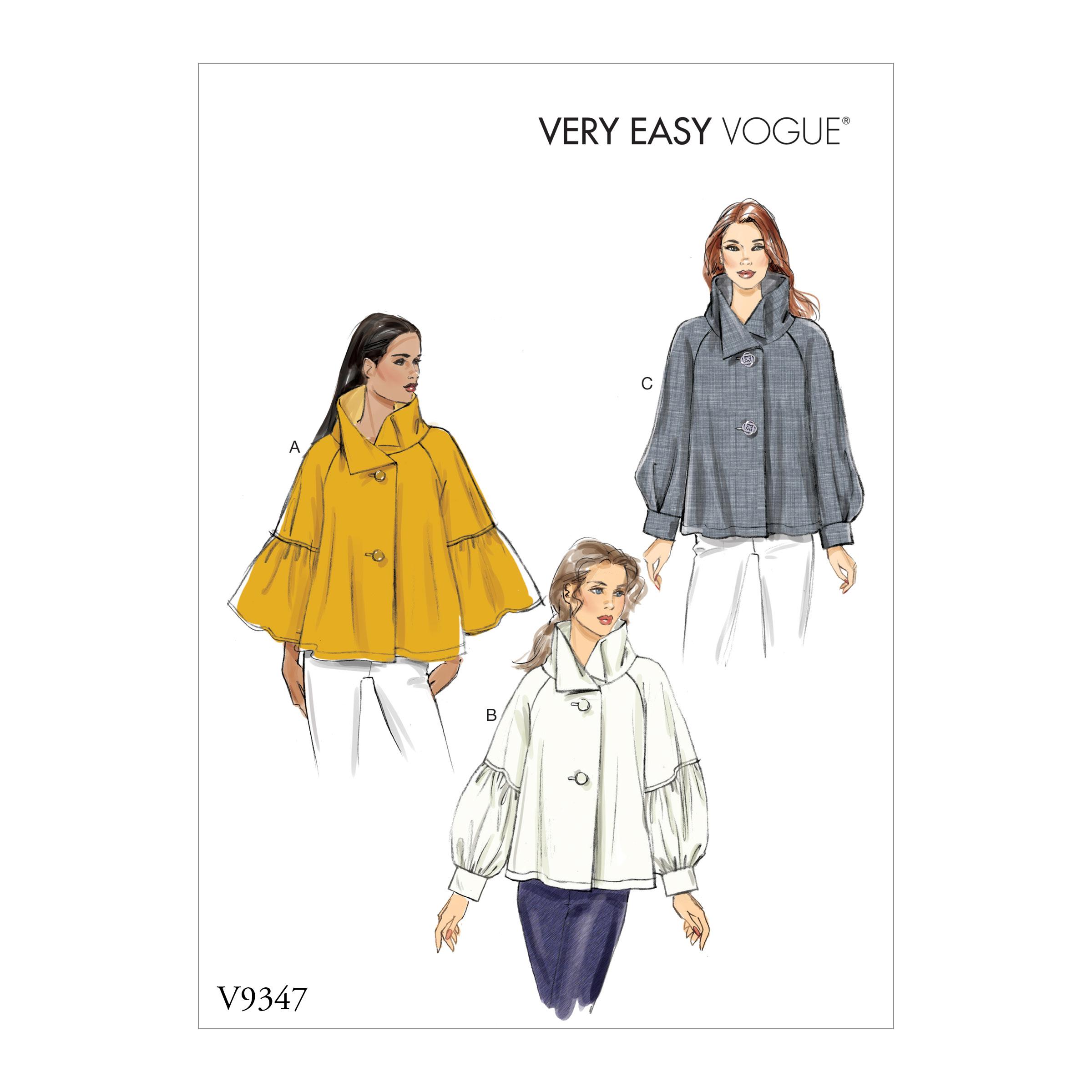 5c69b38770 Vogue Patterns 9347 MISSES' TOP