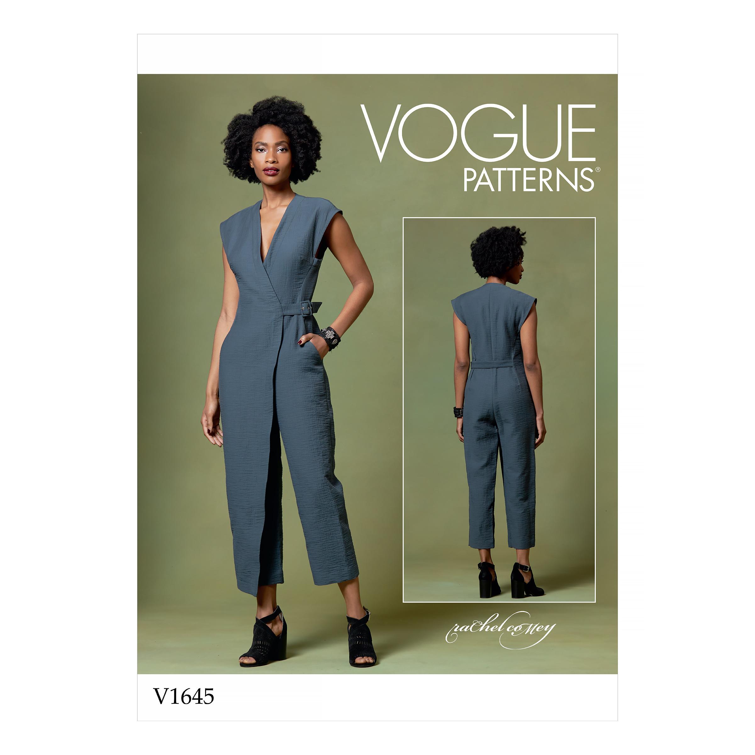Vogue Patterns 1645 Misses Jumpsuit