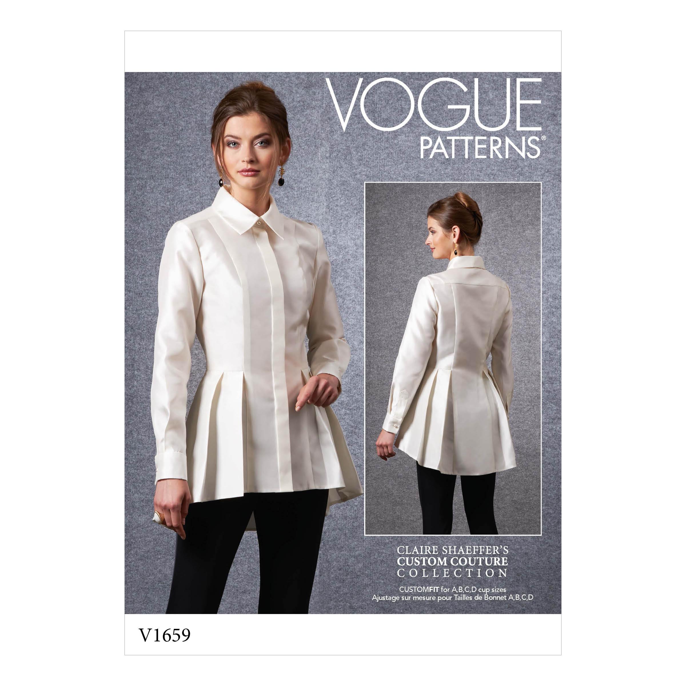 Vogue Patterns 12 MISSES'/MISSES' PETITE SHIRT