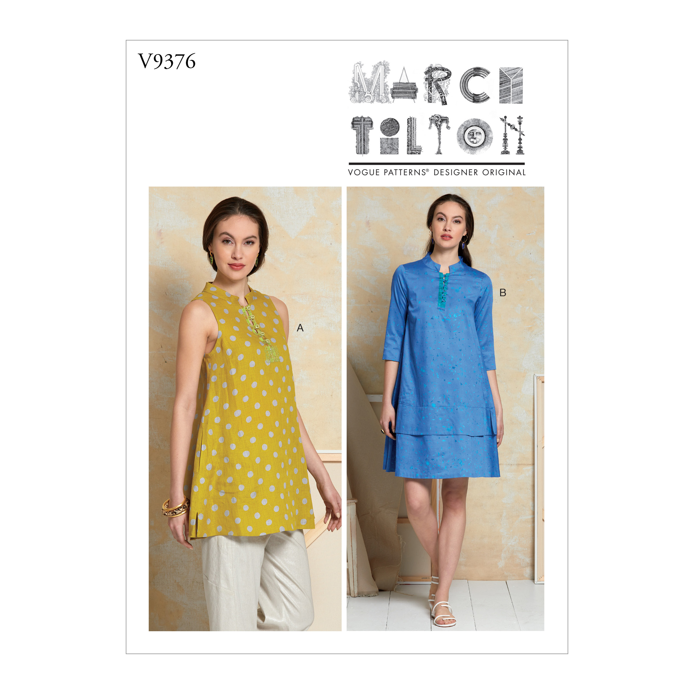 Vogue Patterns 12 MISSES' TUNIC AND DRESS
