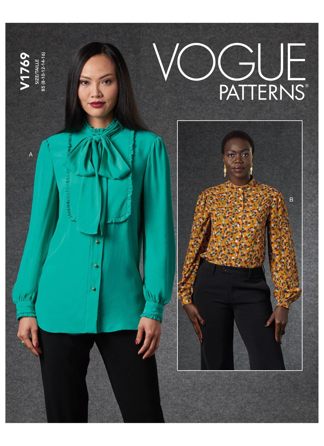 Vogue Patterns 12 Misses' Blouse