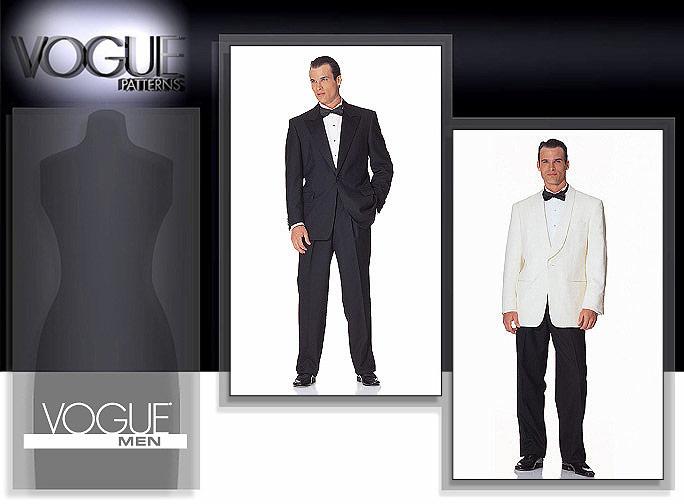 Vogue Patterns 2383 Men\'s Jacket & Pants
