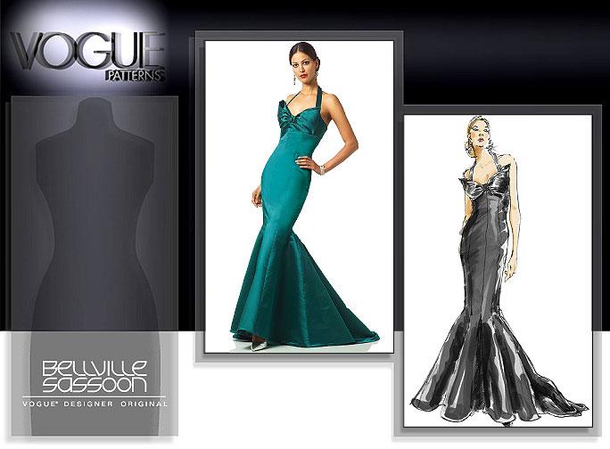 Vogue Patterns 2931 MISSES' DRESS