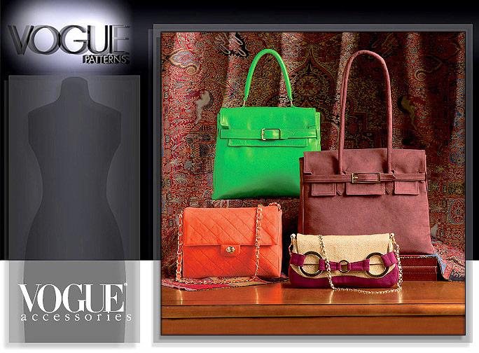 65e7fc2c7a4 Vogue Patterns 7982 Hermes Birkin bag