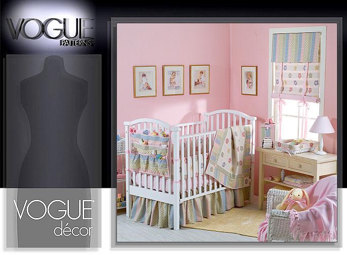 Vogue Patterns 8102 BABY NURSERY