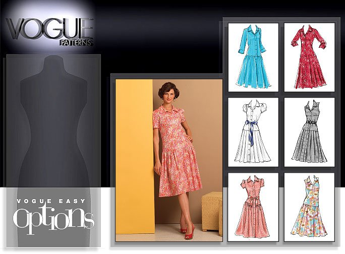 Vogue Patterns 8352 Misses Dress