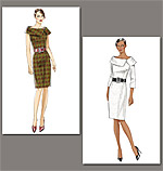 Vogue 8630 Pattern ( Size 14-16-18-20-22 )