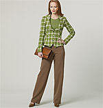 Vogue 8701 Pattern ( Size 6-8-10-12 )