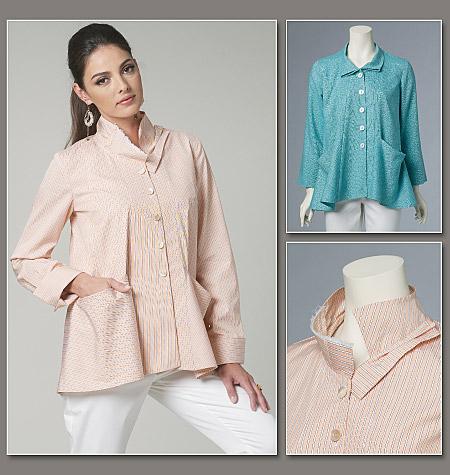 Vogue Patterns 8709 misses jacket