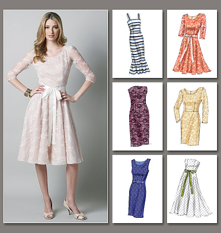 Highlighting The Best Patterns Of 2013 Vogue Patterns 8766 12914