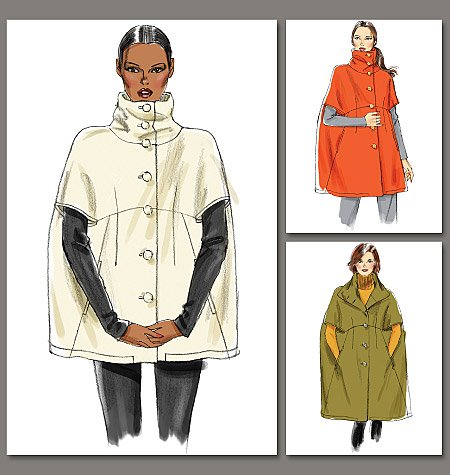 Famous Cape Sewing Patterns Adornment - Sewing Ideas - gotoss.info