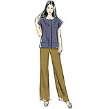 Vogue 8798 Pattern ( Size 14-16-18-20-22 )