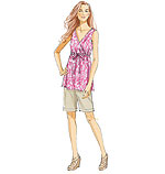 Vogue 8822 Pattern ( Size 6-8-10-12-14 )