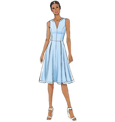 22a62ce9c Vogue Patterns 8993 Misses'/Misses' Petite Dress