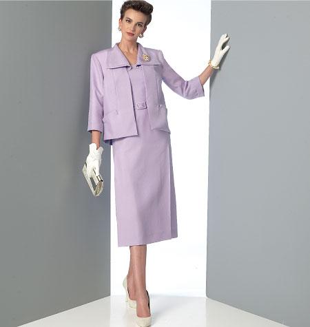 Vogue Patterns 9083 Misses' Jacket, Dress and Belt