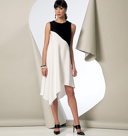 Vogue Patterns 9107 Misses Tunic Dress And Pants