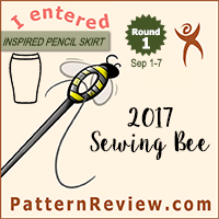 Sewing Bee 2017 - Round 1
