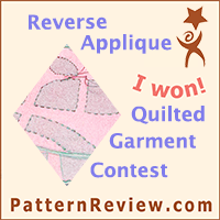 Reverse Applique and Quilted Garment Contest