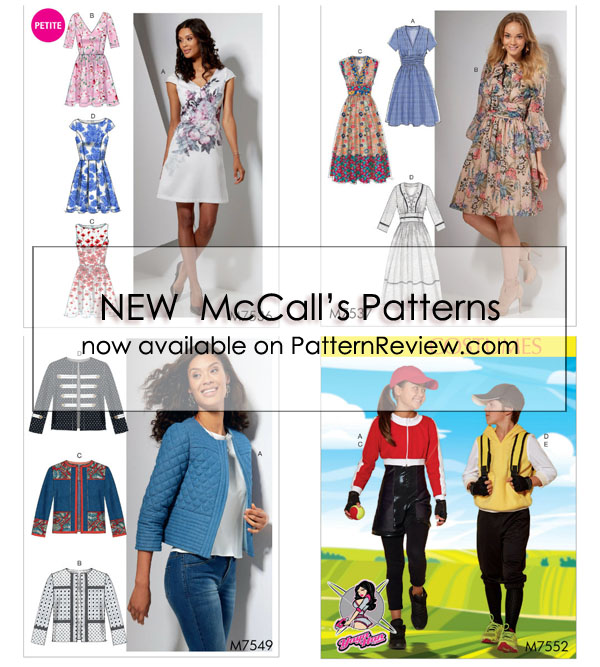 New McCall Patterns Early Spring 40 4040407 PatternReview Blog Simple Mcall Patterns