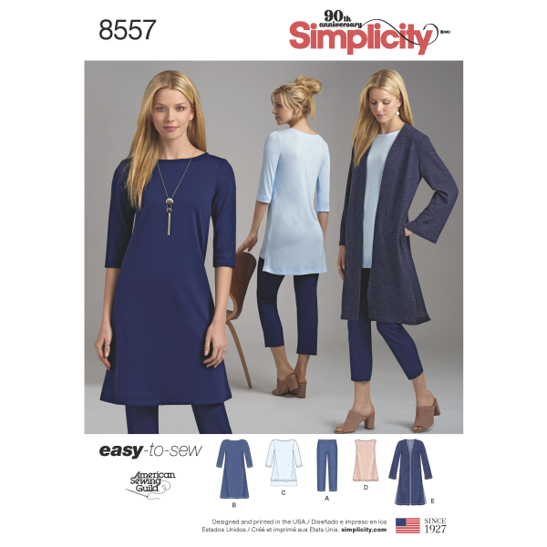 New Simplicity Early Spring Release 2018 1/3/18 - PatternReview com Blog